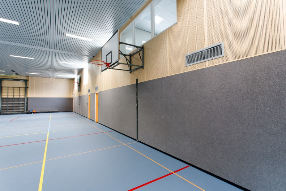 Project Sporthal Steenwijk | Bosma Plafonds